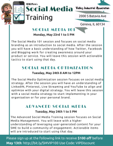 Social Media Training Descriptions